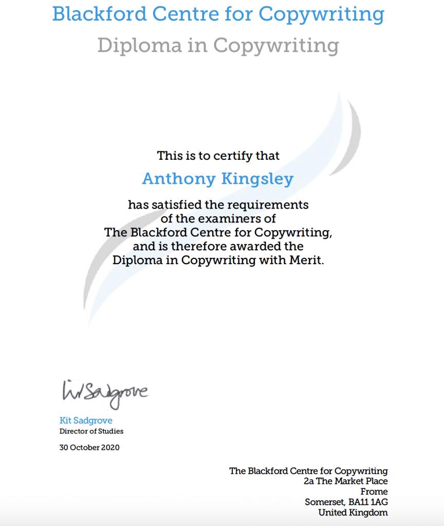 Anthony Kingsley Local Writer